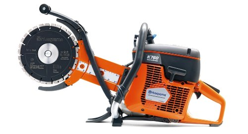 Husqvarna 967195701 K 760 Cut-n-Break Deep Cutting Gas Power Cutter with Set of EL 35 CNB Blades