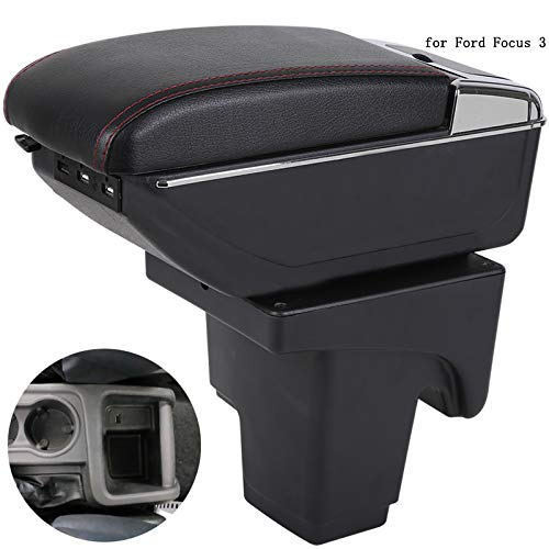 For Astra H Armrest Box Consoles Storage with Cup Holder Ashtray