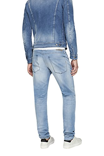 Slim Blu 010 Replay Uomo Denim Jeans Anbass blue zxZCwqpZ