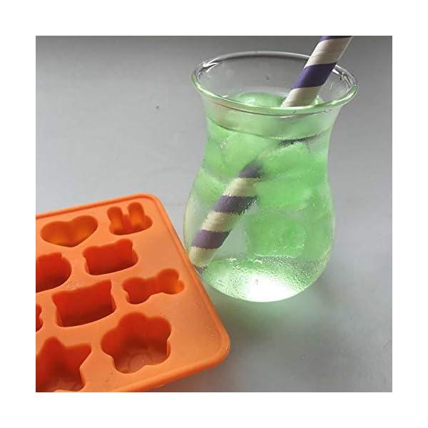 Hosaire - Stampo in silicone per torte, biscotti, gelati, pasticceria, cioccolato, fondente, 3D, a forma di coniglio e… 7 spesavip
