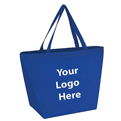 Budget Shopper Tote Bag - 100 Quantity - $1.35 Each - PROMOTIONAL PRODUCT / BULK / BRANDED with YOUR LOGO / CUSTOMIZED.