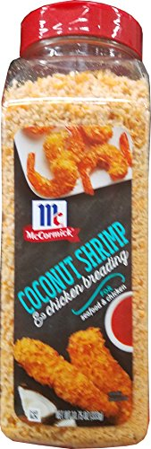 Mc Cormick Coconut Shrimp Breading Limited Time Offer, 11.75 Ounce