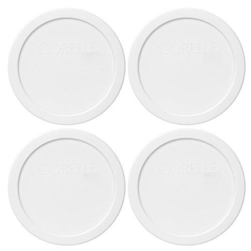 White Replacement Lids - Corelle 428-PC 6.5
