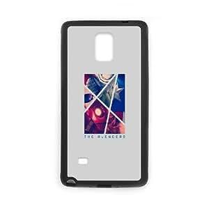 Samsung Galaxy Note 4 Cell Phone Case Black The Avengers Artwork VIU954827