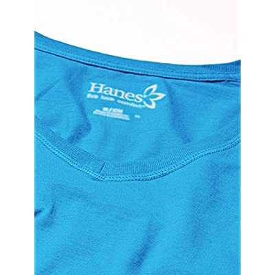 Hanes Women's V-Neck Long Sleeve Tee at Women's Clothing store