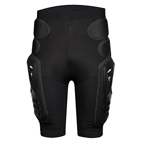 BARHAR Protective Armor Pants Hockey Knight Gear for Motorcycle Motocross Racing Ski Protect Pads Sports Hips Legs - Pants Armor