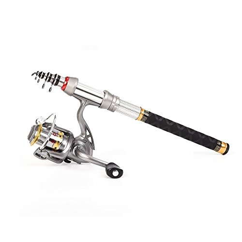 FDDDH Top Quality Telescopic fishing Rod and Reel Set 99