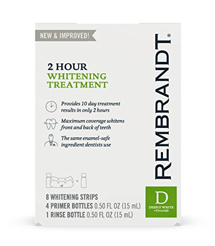 Rembrandt 2 Hour Teeth Whitening Treatment by Rembrandt