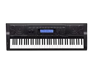 Casio WK-500 76-Key Personal Keyboard with MP3/Audio Connection, 670 Tones and Power Supply
