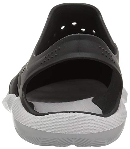 Crocs Men's Swiftwater Wave M Sport Sandal Black/Pearl White 5 M US by Crocs (Image #2)