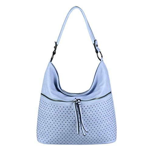 OBC Only-Beautiful-Couture - Bolso al hombro para mujer Rosa Rosa. ca.: 42x34x12 cm (BxHxT) Blau 40x32x15 Cm