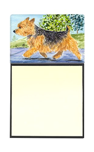 "Caroline's Treasures SS8879SN Norwich Terrier Refillable Sticky Note Holder or Postit Note Dispenser, 3.25 by 5.5"", Multicolor"
