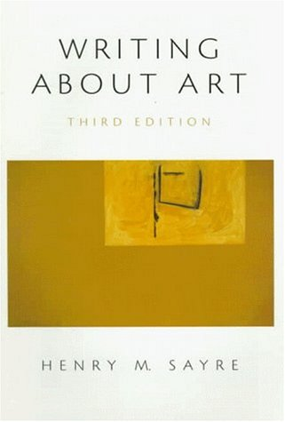 Writing About Art (3rd Edition)