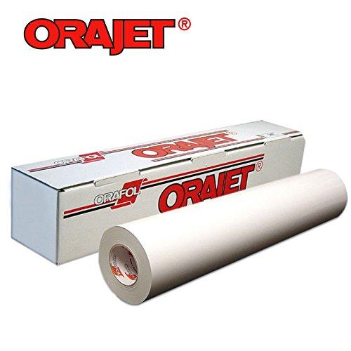 Orajet 3164 Printable Vinyl 15'-Glossy Finish 1 Yard