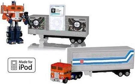 Transformers Optimus Prime G1: Convoy IPOD Docking Bay with Speakers by Hasbro ()