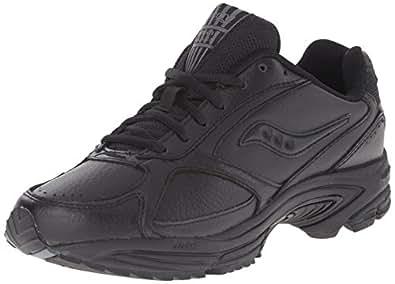 Saucony Men's Grid Omni Walking Shoe,Black,7 M