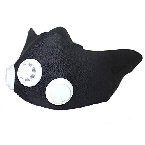 Kenthia Máscara de Entrenamiento Alta altitud, Máscara de Simulación para Ejercicio de Resistencia de bajo Oxígeno, Máscara Deportiva