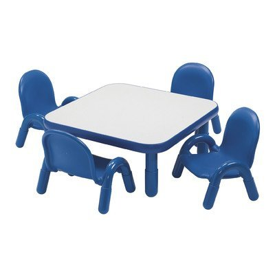 Angeles Toddler Table & Chair Set ROYAL BLUE - Angeles Chair Baseline