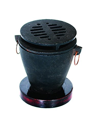 Roaster Burner - Update International (HG-35/CI) Cast Iron Hibachi Set
