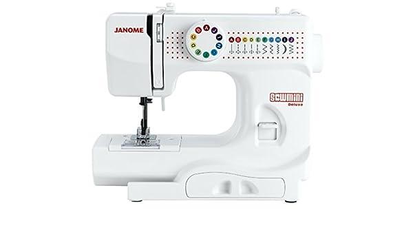 Janome Sew Mini de Luxe infantil de viaje Máquina de coser: Amazon ...