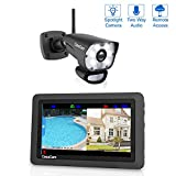 "CasaCam VS1001 Wireless Security Camera System with HD Spotlight Camera and 7"" Touchscreen Monitor (1-cam kit)"
