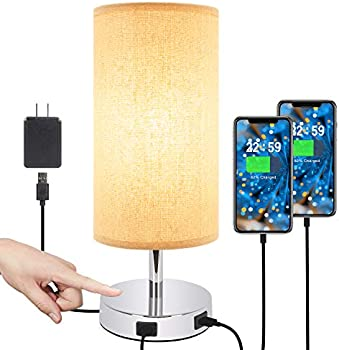 Hong-in Dimmable Touch Control USB Table Lamp