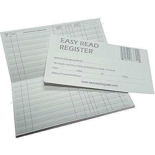 personal check register amazon com
