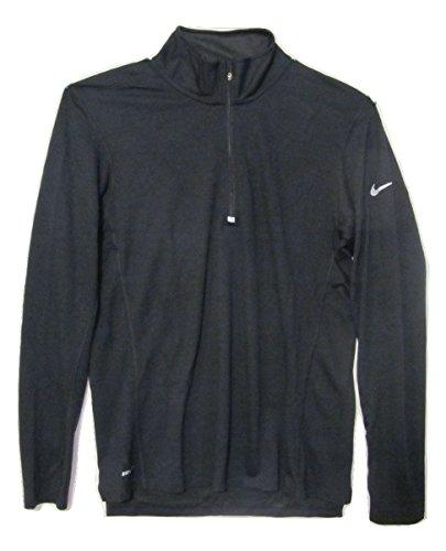 Nike Dri Fit Body (Nike Mens Dri-fit Wool 1/2 Zip Long Sleeve Running Shirt (Medium,)