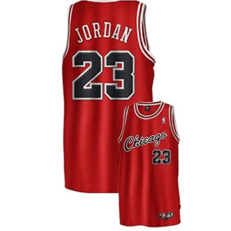 new arrival 9aa1b 88052 Nike Chicago Bulls #23 Michael Jordan Red Rookie Pro-Cut ...