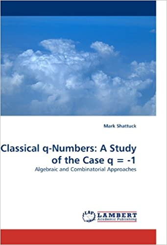 Classical q-Numbers: A Study of the Case q = -1: Algebraic and Combinatorial Approaches