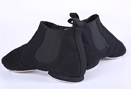 Jazz Wx Sole Dance Belly Soft Top Xw allenamento Shoes Nero Magic 40 34 Loop Canvas p0Cwd