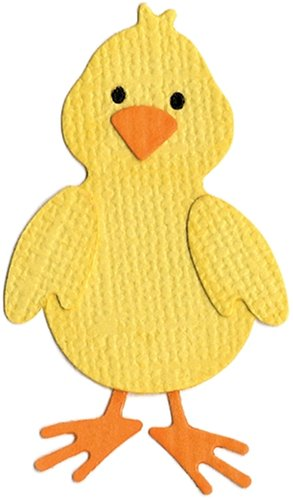 We R Memory Keepers KS-0411 2 by 2-Inch Dies, Chick (Alphabet Die Revolution)