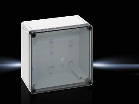 Rittal PK 9517.100 Poliamida, Policarbonato, Polietileno IP66 caja eléctrica - Caja para cuadro eléctrico (182 mm, 90 mm, 180 mm, 600 g): Amazon.es: Bricolaje y herramientas