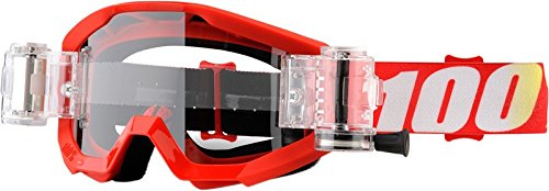 100% Strata SVS Roll-Off Goggles (UNISEX) (Roll Goggles Off)