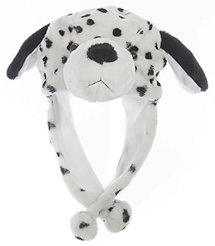 Animal Hat Costumes (Animal Head Super Soft Plush Childrens Hat - Dalmatian)