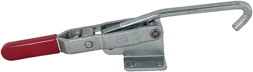 MSI MSI-PRO, MSI40371, Hook type latch quick release toggle clamp with a maximum holding capacity of 750 lbs