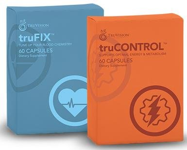 TruFix and Control 60 Day 240 by TruVision Health Products