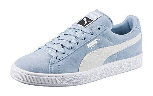 White Puma blue Unisex 06 Adulto Fog Classic Plus Suede Sneaker Blu puma wqfU6w