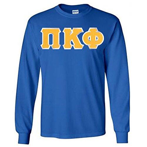 Pi Kappa Phi Lettered Long Sleeve Medium Royal Blue
