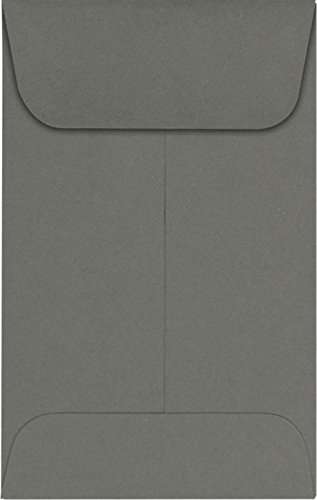 (LUXPaper Coin Envelopes, Smoke, 2 1/4-Inch x 3 1/2-Inch, 50-Count )