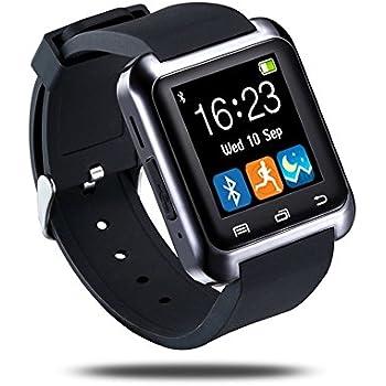 Amazon.com: U80 Bluetooth Smart Watch Outdoor Sports ...