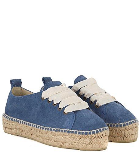 Hamptons iuta Suede blu in Espadrilla e Sneaker Manebí Bleu Rpwq6nEx