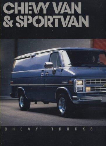 1987 Chevrolet Sportvan Van Beauville Sales Brochure - G10 G20 G30