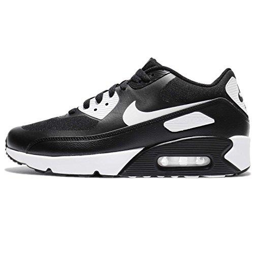 Nike Herren Air Max 90 Ultra 2.0 Essential Turnschuhe Schwarz (Black/Black/White)
