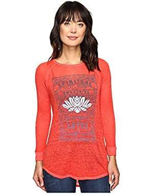 Womens Lotus Matchbox Tee