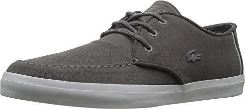 New Lacoste Men's Servin 316 Sneaker Dark Grey 9