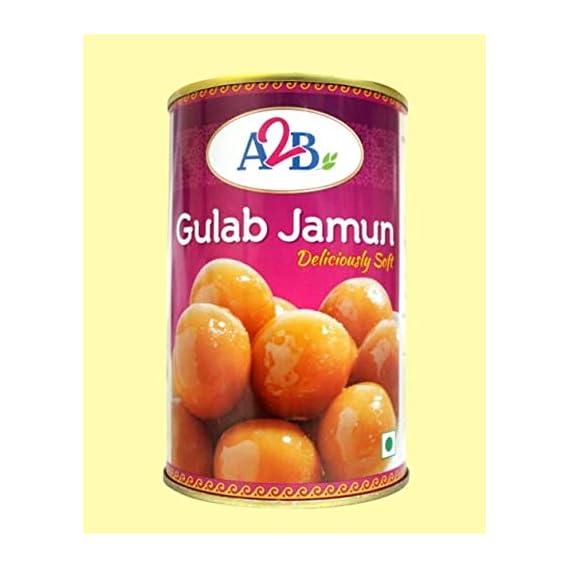 Adyar Anand Bhavan Sweets and Snacks A2B Gulab Jamun Tin (02 x 500 g)
