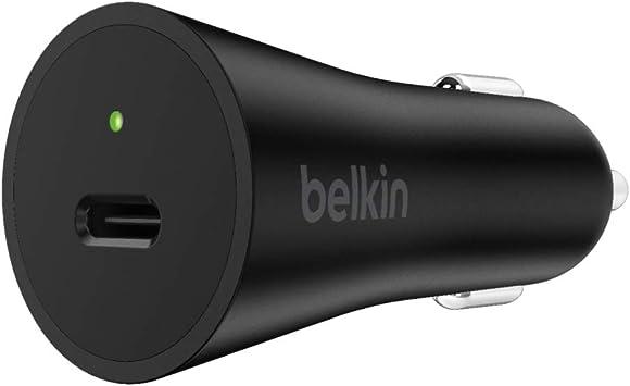 Belkin Boost Charge 27 W Usb C Kfz Schnellladegerät Elektronik
