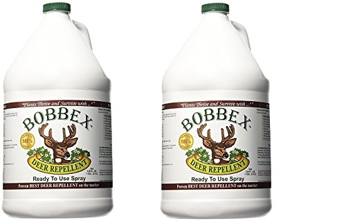 Bobbex B550200 Deer Repellent Ready to Use Refill, 1-Gallon (2-1-Gallon) by Bobbex