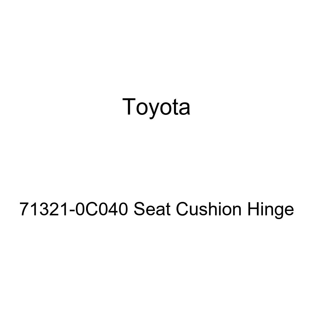 TOYOTA Genuine 71321-0C040 Seat Cushion Hinge